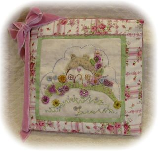 Hollyhock Cottage packet keeper cover.