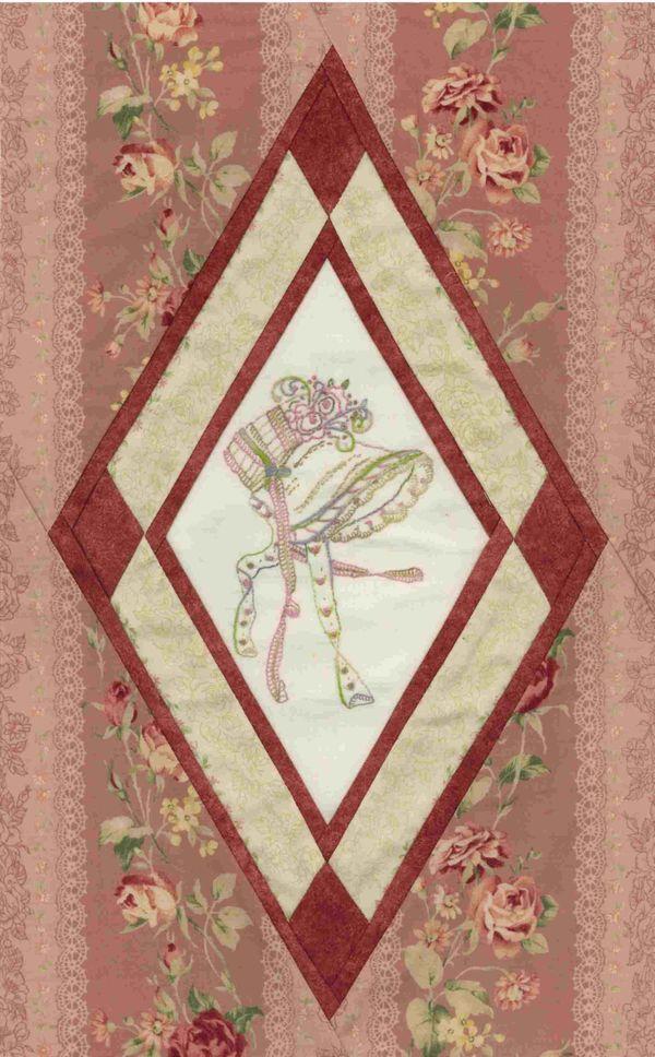 Quot Jane Austen S Bonnet Quot Fabric Choices Also Blanket