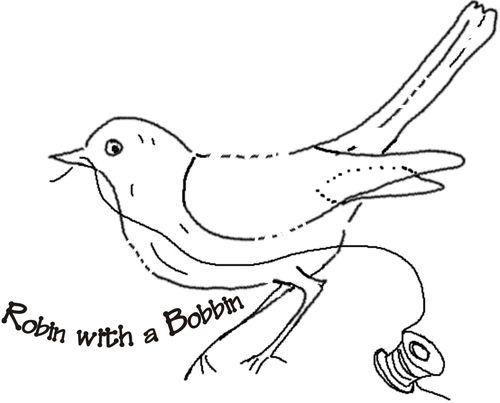 Bobbin and bird