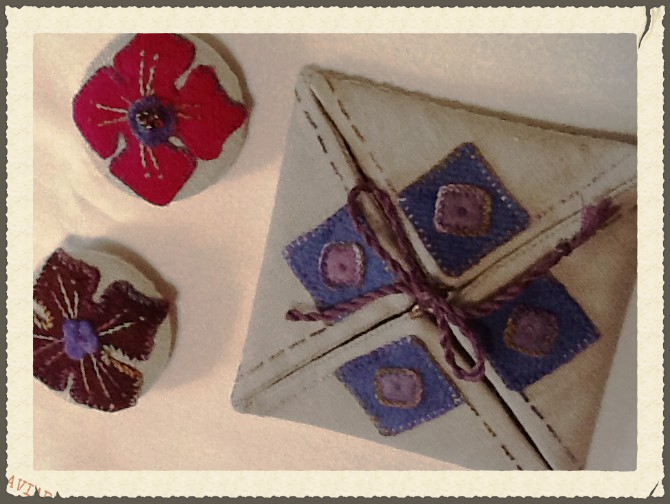Marggarets Buttons and Fourfold from The Macbeth class at EGV in Jan 2015 Brenda Ryan